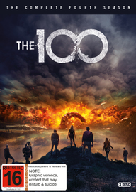 The 100 - The Complete Fourth Season on DVD image