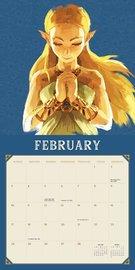 Legend of Zelda: Breath of the Wild 2019 Wall Calendar by Pokemon image