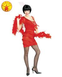 Rubie's:Roarin' Red Flapper Costume(Medium)