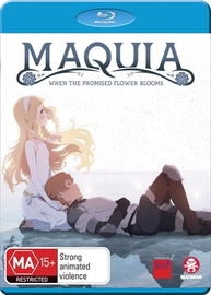 Maquia: When The Promised Flower Blooms on Blu-ray