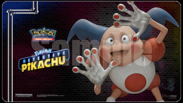 POKEMON - Playmat - Detective Pikachu 'Mr Mine'