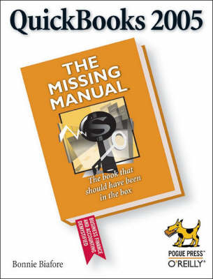 Quickbooks: The Missing Manual: 2005 by Bonnie Biafore image
