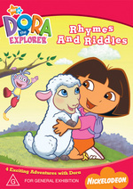 Dora The Explorer - Rhymes And Riddles on DVD
