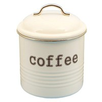 Coffee Canister - White