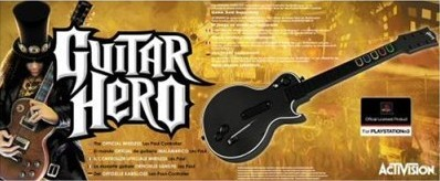 Guitar Hero Wireless Guitar for PS3