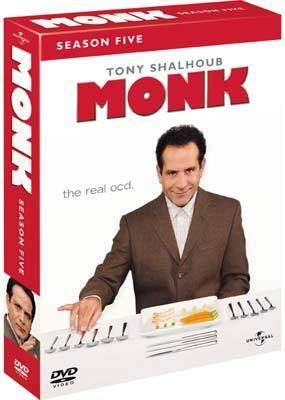 Monk - Season 5 (5 Disc Set) on DVD