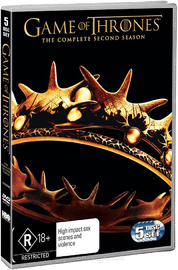 Game of Thrones - The Complete Second Season on DVD image