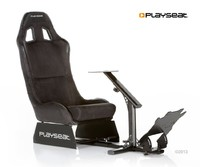 Playseat Evolution Alcantara - Black for  image