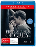 Fifty Shades of Grey on Blu-ray