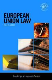 European Union Lawcards: 2010-2011 image