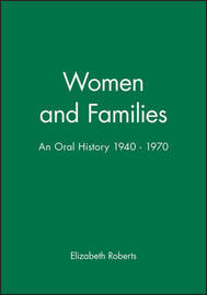Women and Families by Elizabeth Roberts image