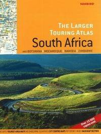 Larger Touring Atlas of South Africa & Botswana, Mozambique, Namibia & Zimbabwe by John Hall image