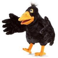 Folkmanis Hand Puppet - Yellow Beaked Crow image