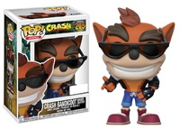 Crash Bandicoot (Biker Outfit Ver.) - Pop! Vinyl Figure