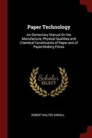 Paper Technology by Robert Walter Sindall image