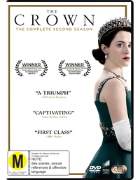 The Crown Season 2 on DVD