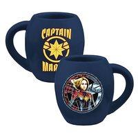 Captain Marvel 18 oz. Oval Ceramic Mug image