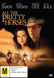 All The Pretty Horses on DVD