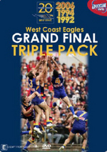 AFL - West Coast Eagles: Grand Final Triple Pack (3 Disc Box Set) on DVD