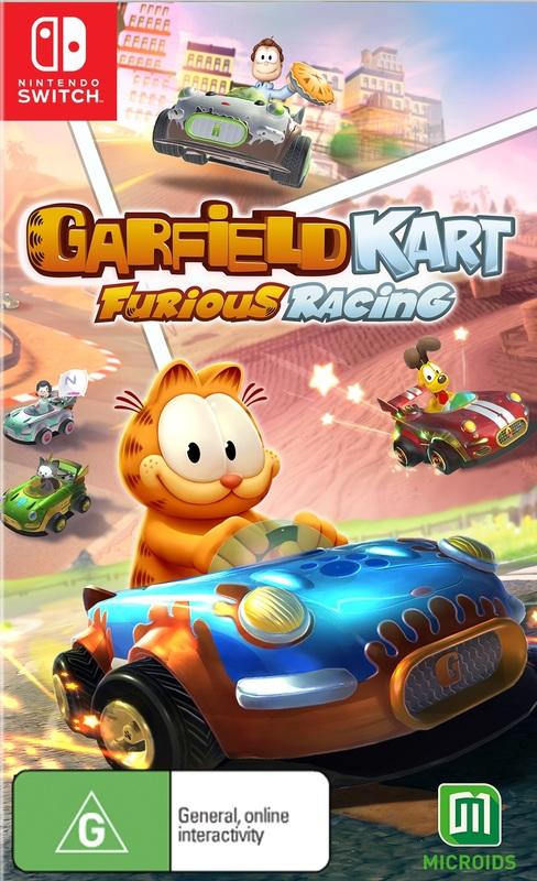 Garfield Kart Furious Racing for Switch