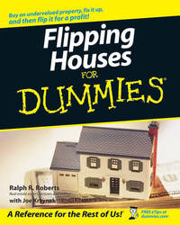 Flipping Houses For Dummies by Ralph R Roberts image
