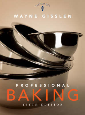 Professional Baking: WITH Professional Baking Method Cards by Wayne Gisslen image
