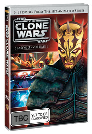 Star Wars: The Clone Wars - Season 3 Volume 3 on DVD