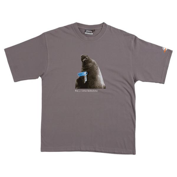 Lolrus Hazbucketus - Tshirt (Steel) for