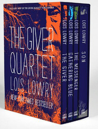 The Giver Quartet Box Set (4 Books) by Lois Lowry