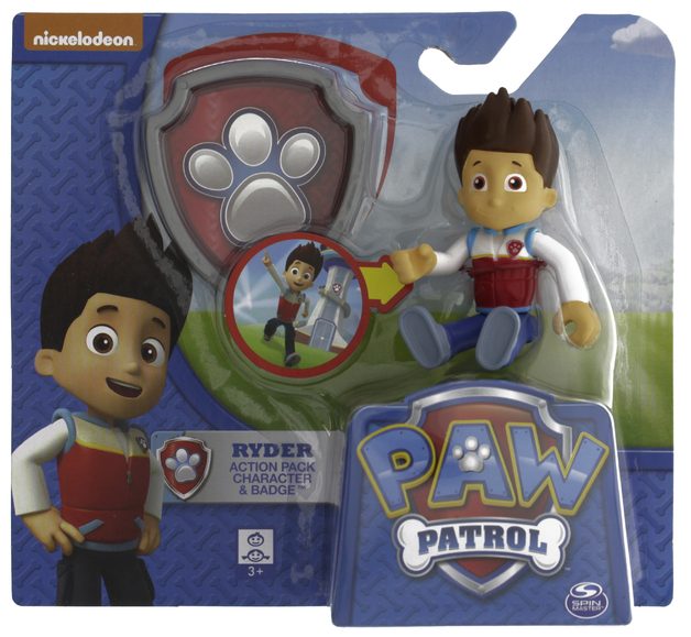 Paw Patrol Actionpack Pup Badge Ryder Toy At Mighty Ape Australia