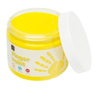EC Colours - 250ml Finger Paint - Yellow