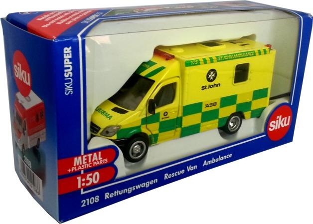 Siku: NZ St. John Ambulance 1:50
