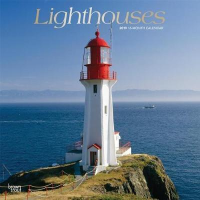 Lighthouses 2019 Square Foil by Inc Browntrout Publishers