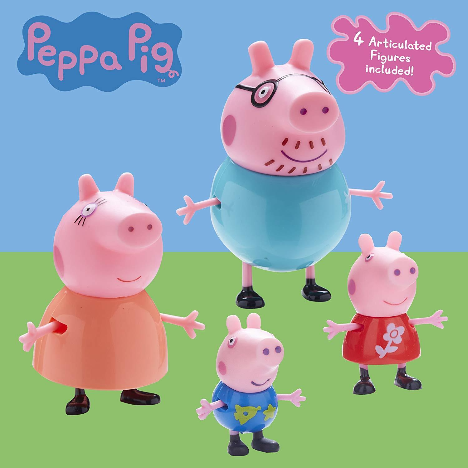 Peppa Pig - Family Figure Pack image