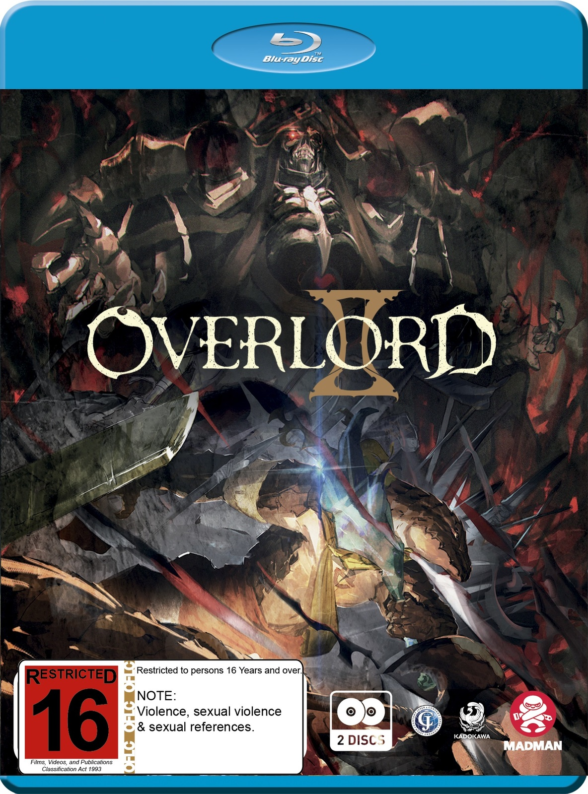 Overlord: The Complete Season 2 on Blu-ray image