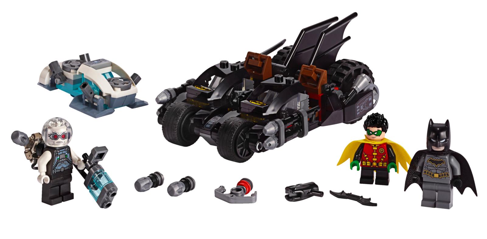LEGO Super Heroes: Mr. Freeze Batcycle Battle (76118) image