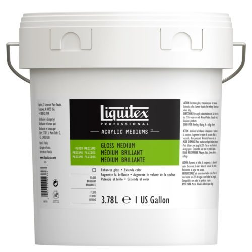 Liquitex: Gloss Fluid Medium (3.78l)