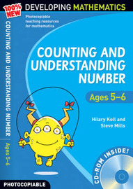 Counting and Understanding Number - Ages 5-6: 100% New Developing Mathematics: Year 1 by Hilary Koll