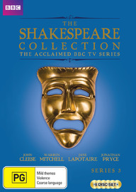 BBC The Shakespeare Collection - Series 3 on DVD