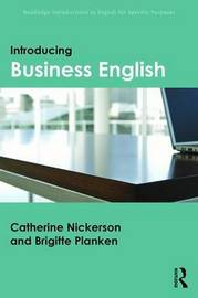 Introducing Business English by Catherine Nickerson