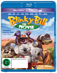 Blinky Bill - The Movie on Blu-ray, UV