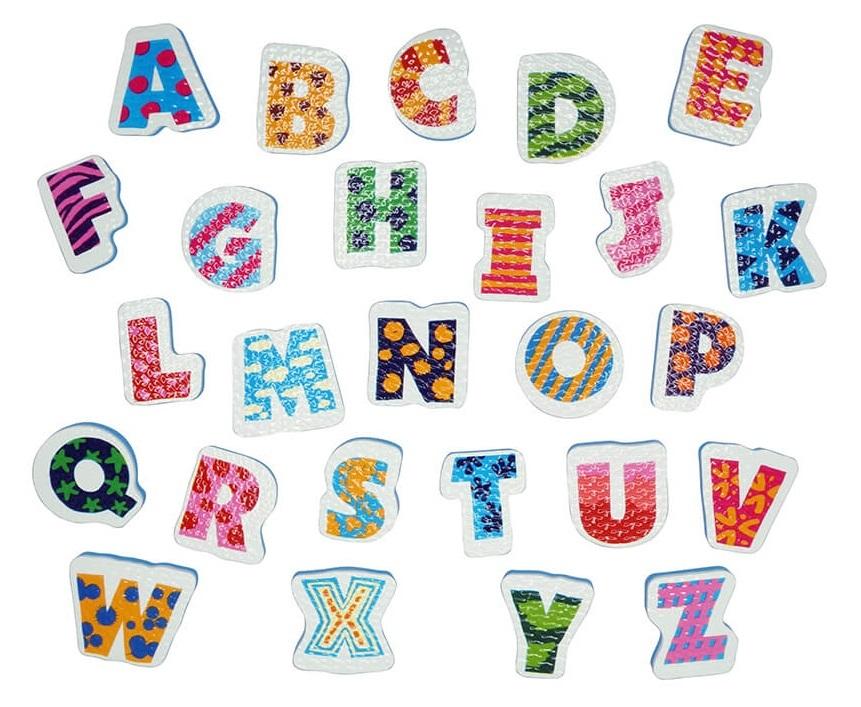 Tolo Toys: Alphabet - Bath Sticker Set image