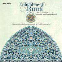 Brush Dance: Enlightened Rumi 2019 Wall Calendar
