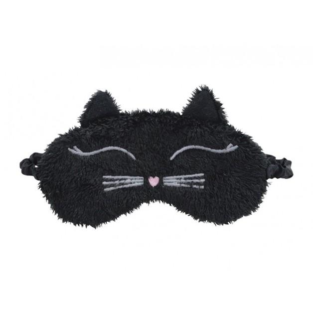 Annabel Trends Little Faces Eye Mask - Black Cat
