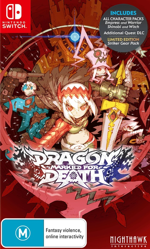 Dragon Marked For Death for Switch
