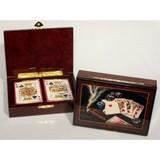 Las Vegas Card Box (Cigar Design)