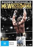 Shawn Michael's - Mr. Wrestlemania (3 Disc Set) on DVD