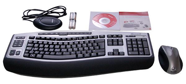 Microsoft Wireless Laser Desktop 6000 V2 image