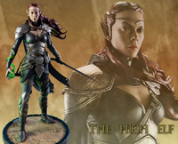 "Elder Scrolls Online: The High Elf 15.5"" Statue"