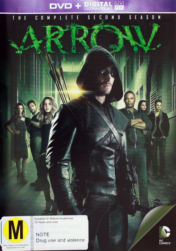 Arrow - The Complete Second Season on DVD